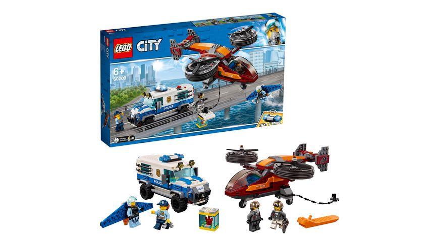 Lego City Police 60209 Polizei Diamantenraub Online Bestellen Müller