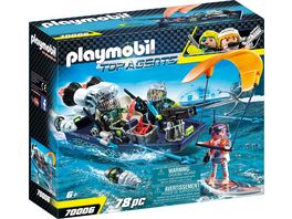 PLAYMOBIL 70006 Top Agents Team S H A R K Harpoon Craft