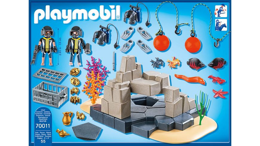 PLAYMOBIL 70011 SuperSet SuperSet SEK Taucheinsatz