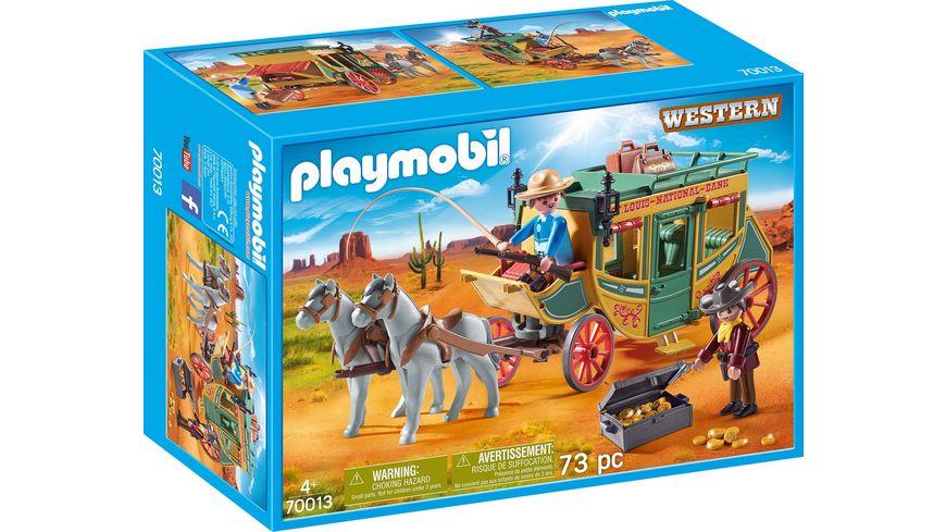 PLAYMOBIL 70013 Western Westernkutsche