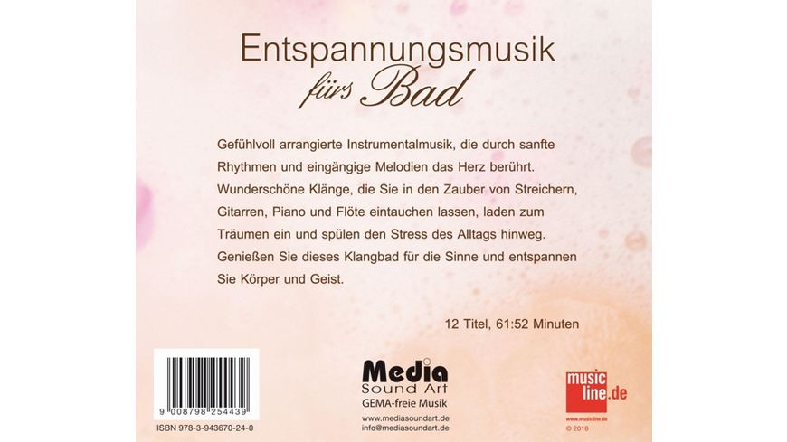 Entspannungsmusik fuers Bad