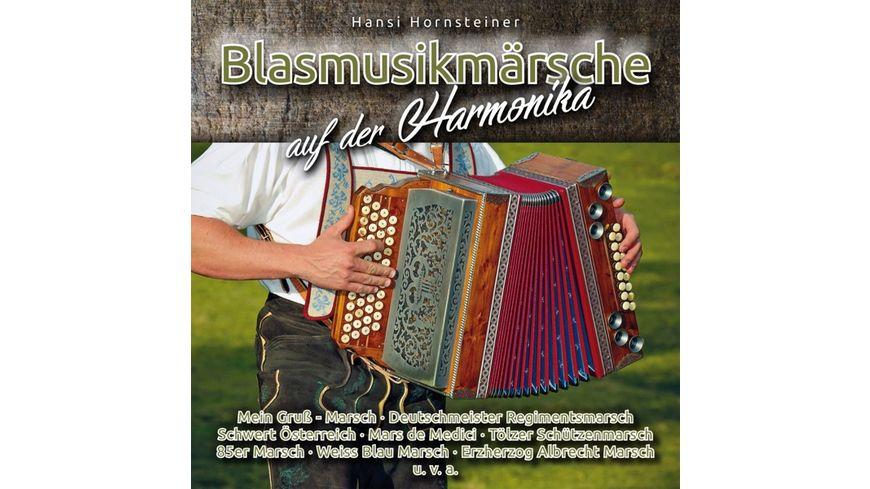 Blasmusikmaersche auf der Harmonika