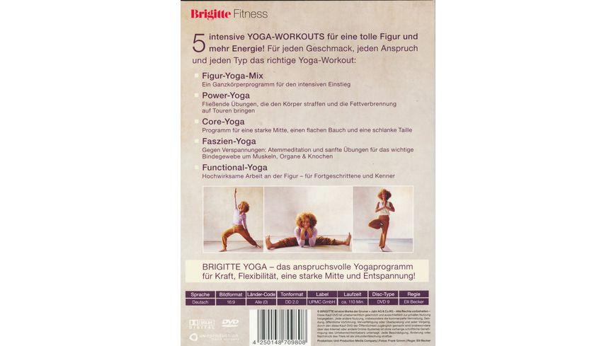 Brigitte Yoga Power Yoga Core Yoga Faszien Yoga