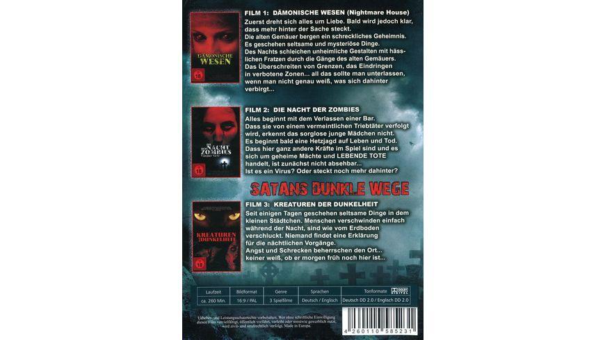 Satans dunkle Wege uncut 3 DVDs