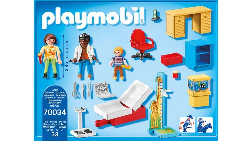 PLAYMOBIL 70034 Starter Pack StarterPack Beim Kinderarzt