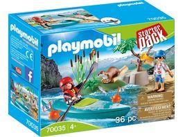 PLAYMOBIL 70035 Starter Pack StarterPack Kanu Training