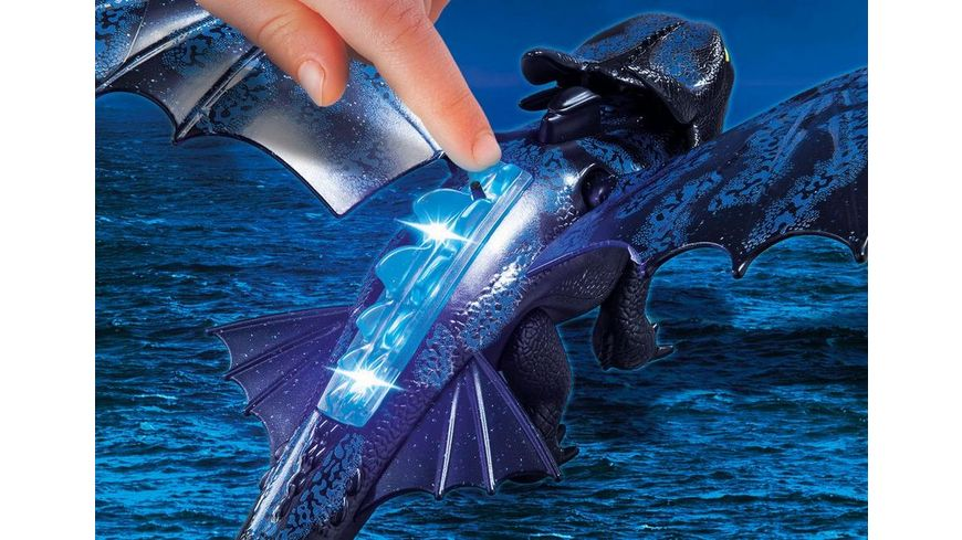 PLAYMOBIL 70037 Dragons Ohnezahn und Hicks mit Babydrachen