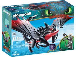 PLAYMOBIL 70039 Dragons Todbringer und Grimmel