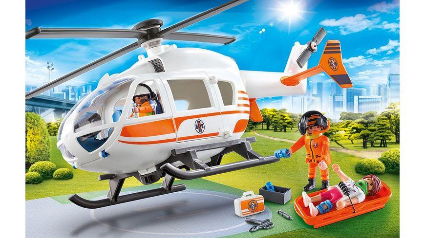PLAYMOBIL 70048 City Life Rettungshelikopter