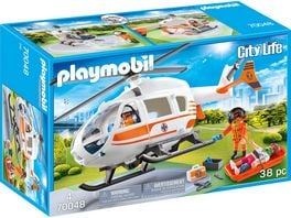 PLAYMOBIL 70048 City Life Rettungshelikopter