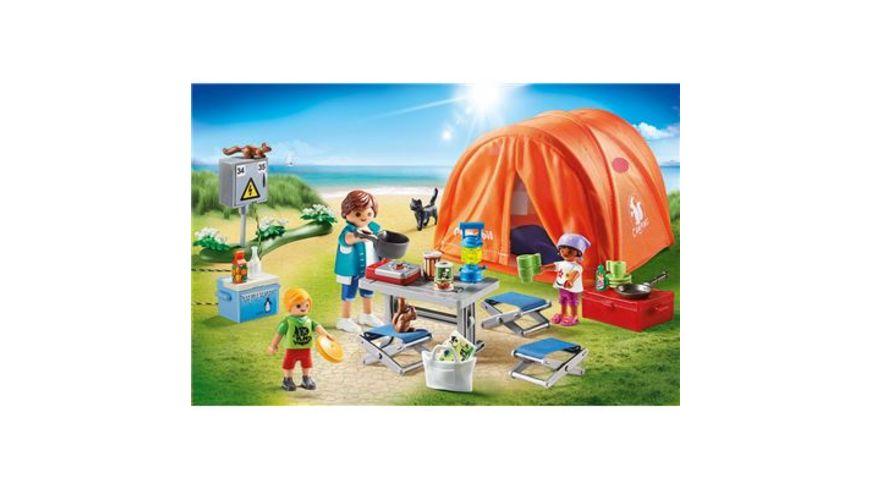 PLAYMOBIL 70089 Family Fun Familien Camping