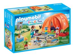 PLAYMOBIL 70089 Family Fun Familien Camping
