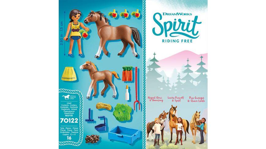 PLAYMOBIL 70122 Spirit Riding Free Pru mit Pferd und Fohlen