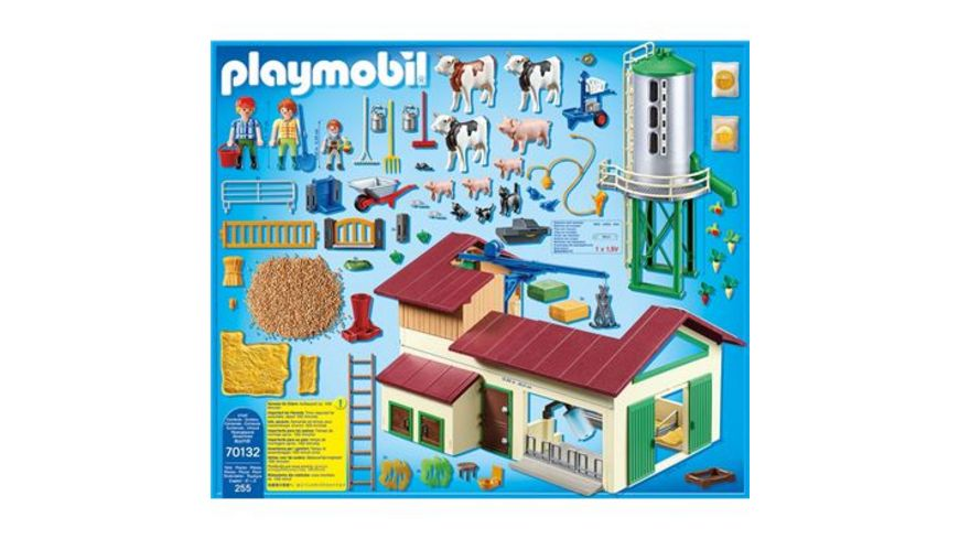 PLAYMOBIL 70132 Country Grosser Bauernhof mit Silo