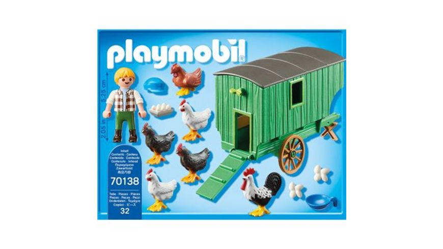 PLAYMOBIL 70138 Country Mobiles Huehnerhaus