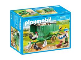 PLAYMOBIL 70138 Country Mobiles Huehnerhaus