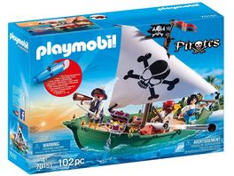 PLAYMOBIL 70151 Pirates Piratenschiff