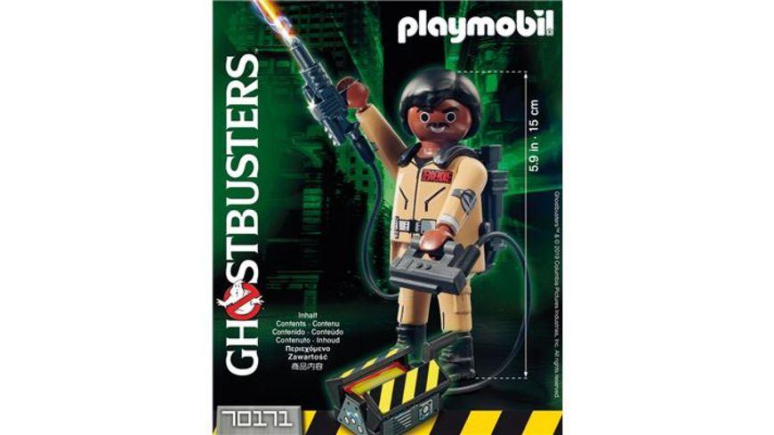 PLAYMOBIL 70171 Ghostbusters Ghostbusters Sammlerfigur W Zeddemore