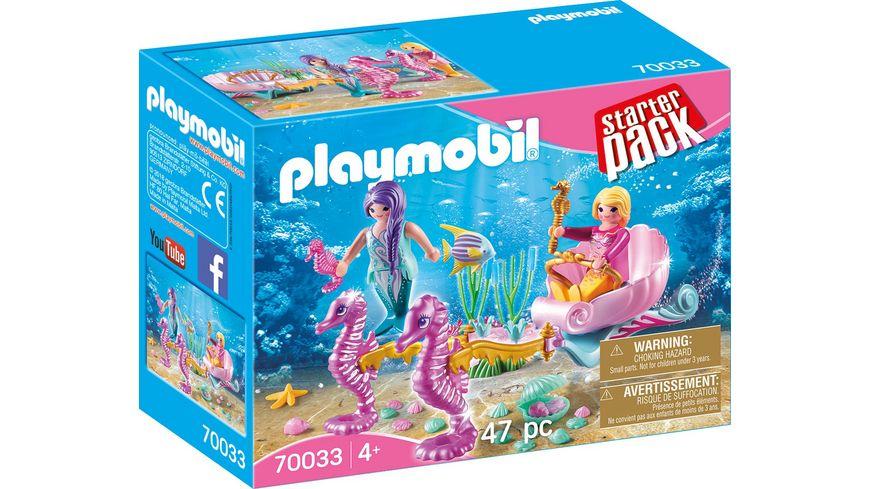 PLAYMOBIL 70033 Starter Pack StarterPack Seepferdchenkutsche