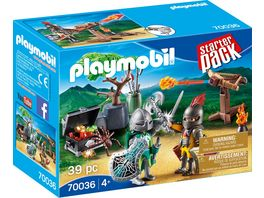 PLAYMOBIL 70036 Starter Pack StarterPack Kampf um den Ritterschatz