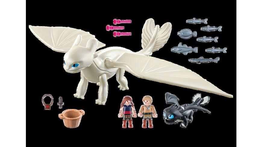 PLAYMOBIL 70038 Dragons Tagschatten und Babydrachen mit Kindern