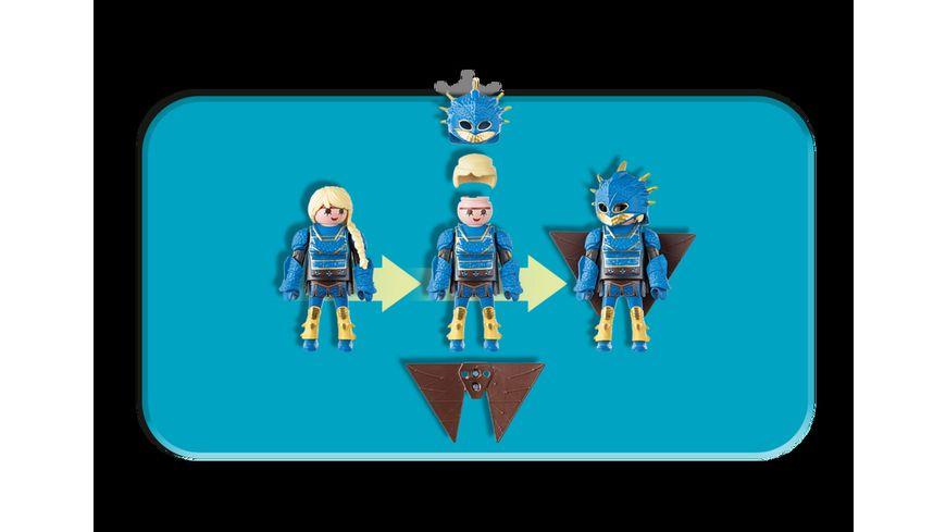 PLAYMOBIL 70041 Dragons Astrid mit Fluganzug und Nimmersatt