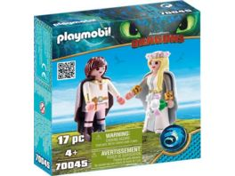 PLAYMOBIL 70045 Dragons Astrid und Hicks