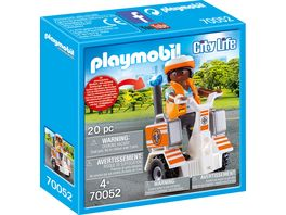 PLAYMOBIL 70052 City Life Rettungs Balance Roller