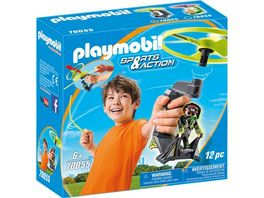 PLAYMOBIL 70055 Sports Action Top Agents Pull String Flyer