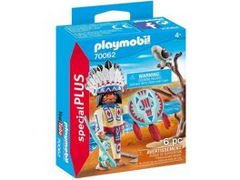 PLAYMOBIL 70062 Special Plus Indianerhaeuptling