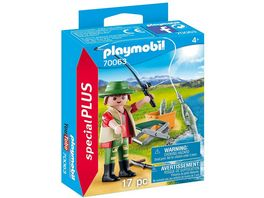 PLAYMOBIL 70063 Special Plus Angler