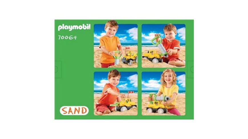 PLAYMOBIL 70064 Sand Bohrfahrzeug