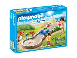 PLAYMOBIL 70092 Family Fun Minigolf