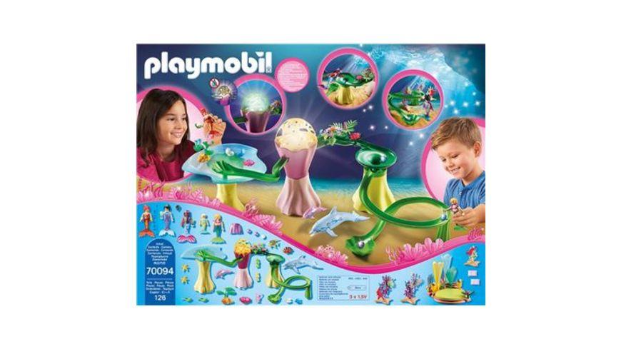 PLAYMOBIL 70094 Magic Korallenpavillon mit Leuchtkuppel