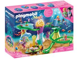 PLAYMOBIL 70094 Magic Korallenpavillon mit Leuchtkuppel
