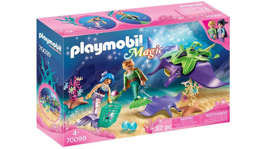 PLAYMOBIL 70099 Magic Perlensammler mit Rochen