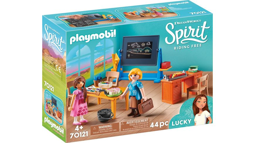 PLAYMOBIL 70121 Spirit Riding Free Schulzimmer von Miss Flores