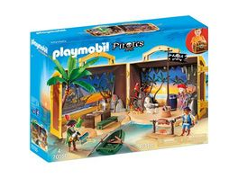 PLAYMOBIL 70150 Pirates Mitnehm Pirateninsel