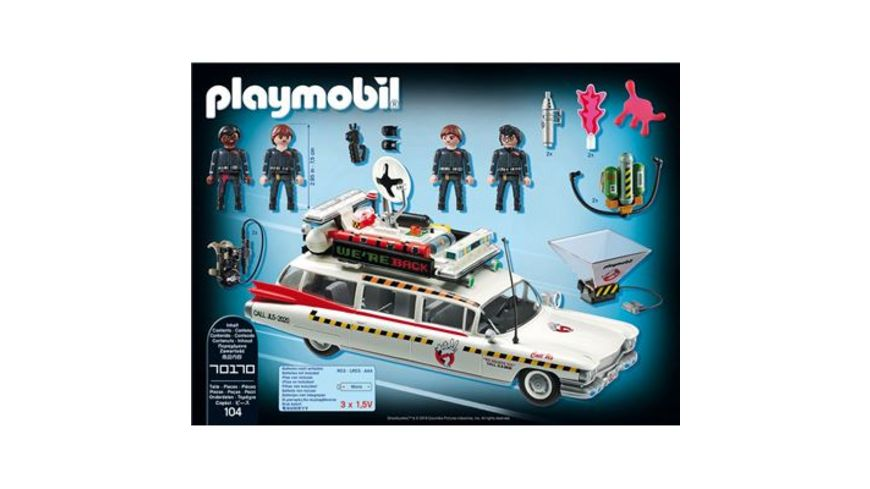 PLAYMOBIL 70170 Ghostbusters Ghostbusters Ecto 1A