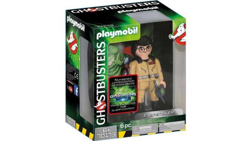 PLAYMOBIL 70173 Ghostbusters Ghostbusters Sammlerfigur E Spengler