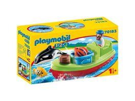 PLAYMOBIL 70183 1 2 3 Seemann mit Fischerboot