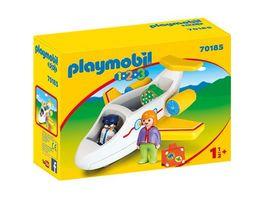 PLAYMOBIL 70185 1 2 3 Passagierflugzeug