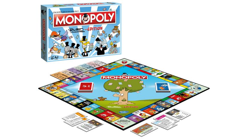 Winning Moves Monopoly Ruthe Edition