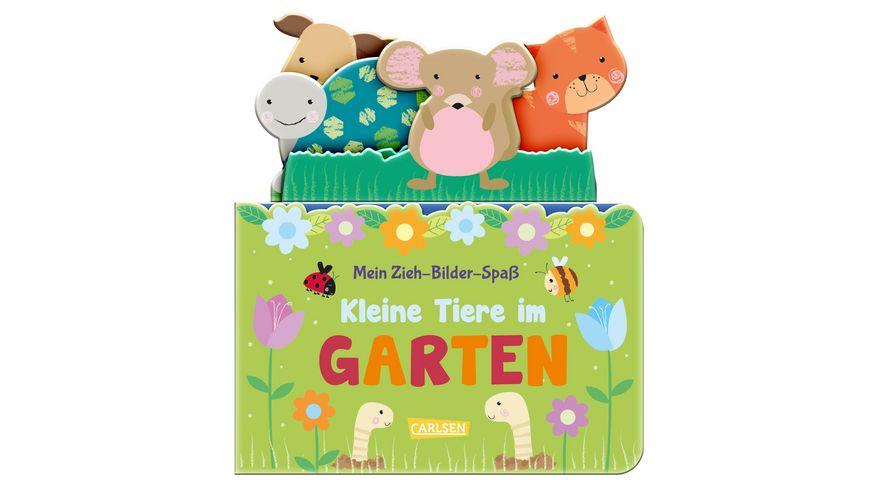 Mein Zieh Bilder Spass Kleine Tiere im Garten