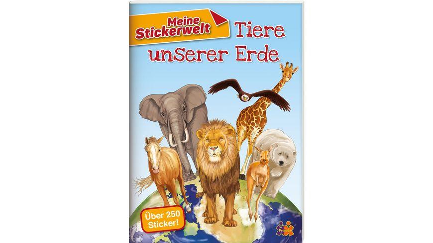 Tiere unserer Erde Stickerbuch