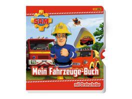Feuerwehrmann Sam Mein Fahrzeuge Buch mit Drehscheibe