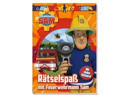 Feuerwehrmann Sam Raetselspass mit Feuerwehrmann Sam