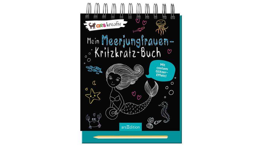 Mein Meerjungfrauen Kritzkratz Buch
