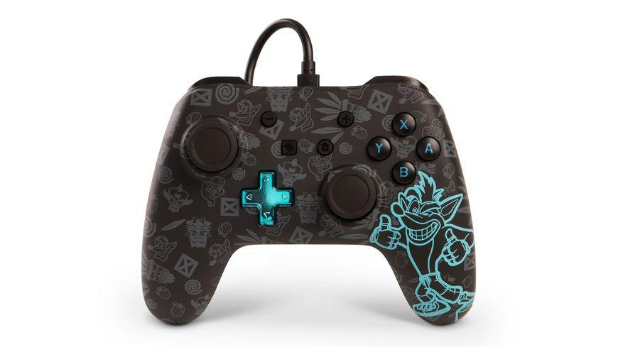 PowerA Nintendo Switch Wired Controller Crash Bandicoot