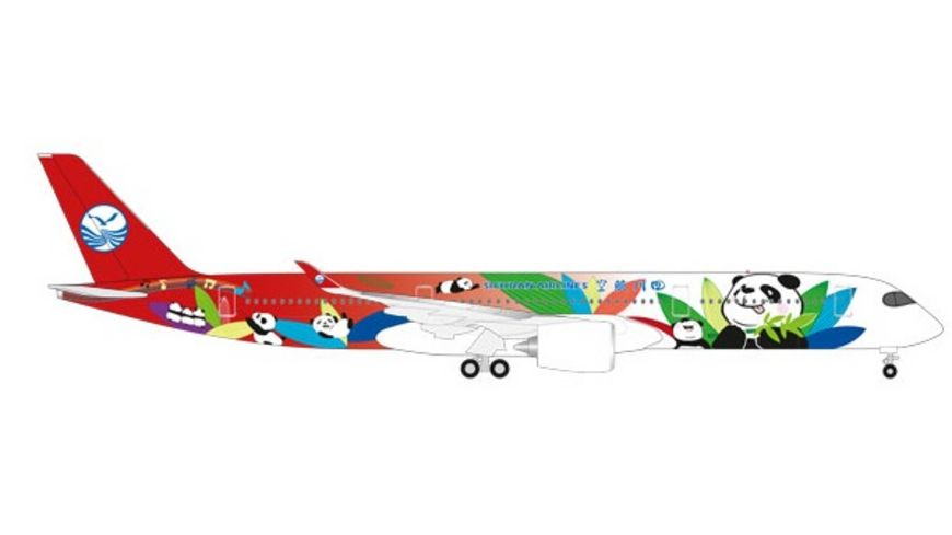 Herpa 531474 Sichuan Airlines Airbus A350 900